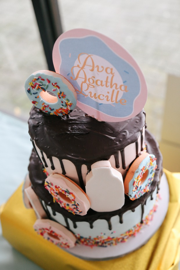 Donut Themed Cake