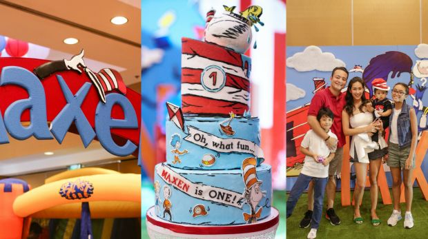 Cat in the Hat Themed Cake