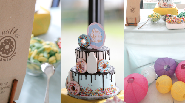 AVA AGATHAS DONUT THEMED PARTY Sugarcraft MNL