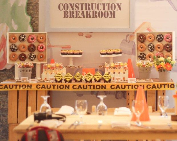 Construction Themed Party - Construction Themed Cake - Manila Cake Supplier