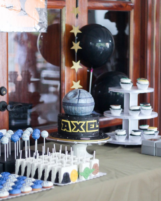 Star Wars Party - Star Wars Cake - Cake Supplier Manila