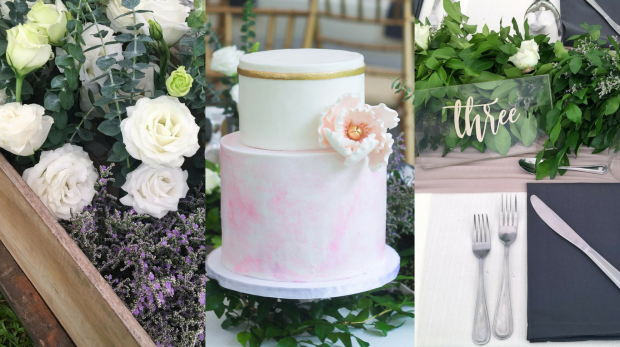Blush Wedding - Blush Wedding Cake - Manila Cake Supplier