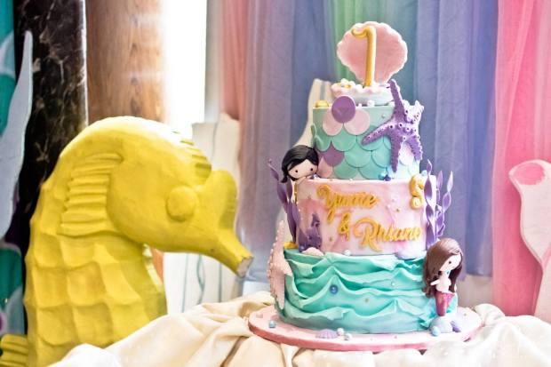 Mermaid Cake - Mermaid Party - Cake Supplier Manila