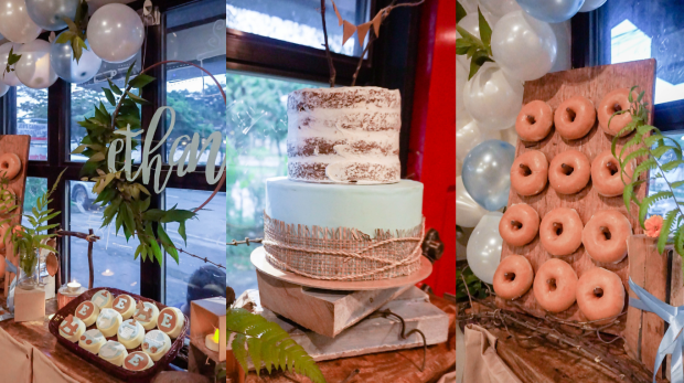 Rustic Cake - Rustic Baby Shower - Wedding Supplier Manila