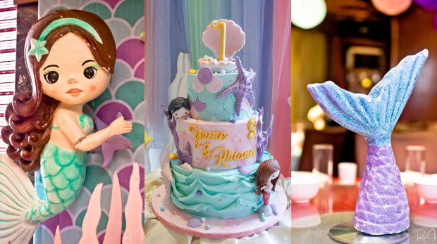 Mermaid Cake - Mermaid Party - Cake Supplier Manila