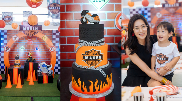 Motor Themed Party - Motor Themed Cake - Cake Supplier Manila - Mikaela Martinez