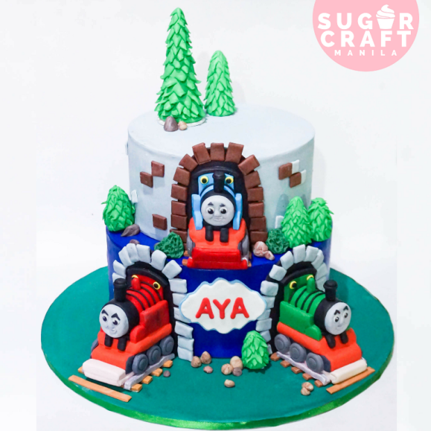 Brilliant Cake Inspiration Blue Cakes By Sugarcraft Mnl Sugarcraft Mnl Birthday Cards Printable Benkemecafe Filternl