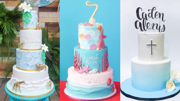 Blue Cakes - Cake Inspiration - Cake Designer Manila